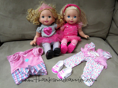 Little Mommy dolls