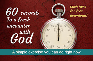 Click below for instructions on how to have a Fresh Encounter with God