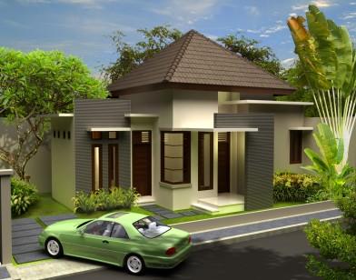 rancang arsitektur bali membangun rumah minimalis di