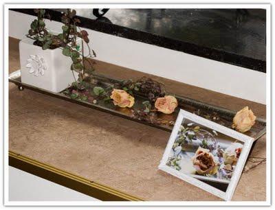 Bild av rosor, framför rosor