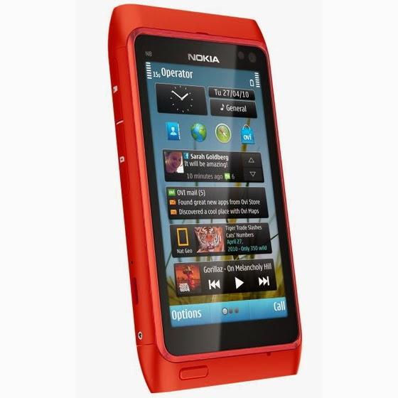 Spesifikasi dan Nokia N8