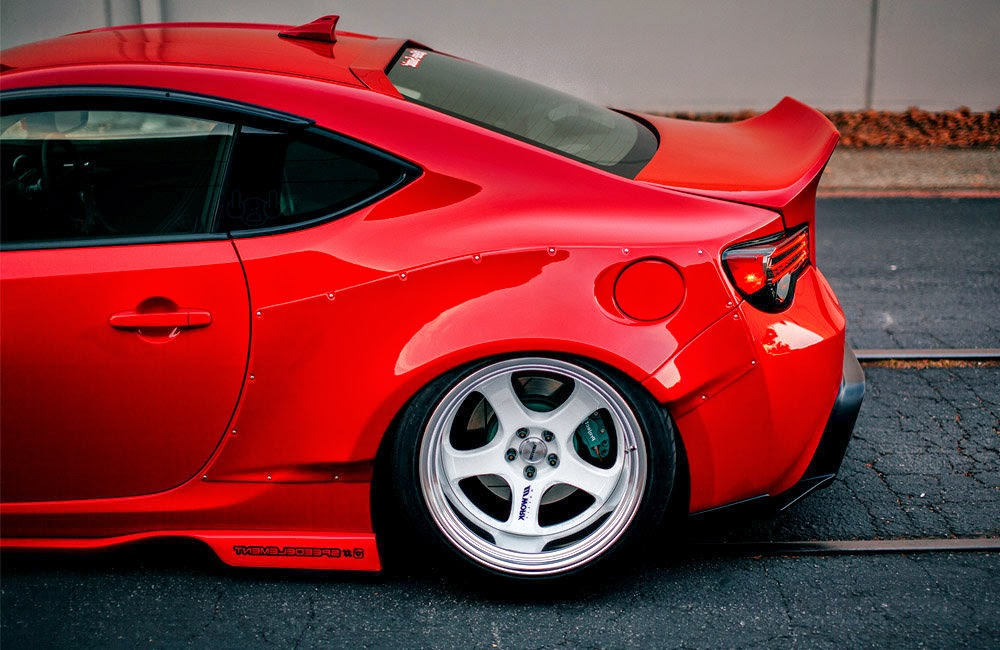 Scion FRS Modified Wallpaper Side 2