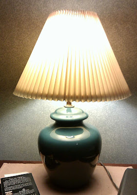 Old lamp shade