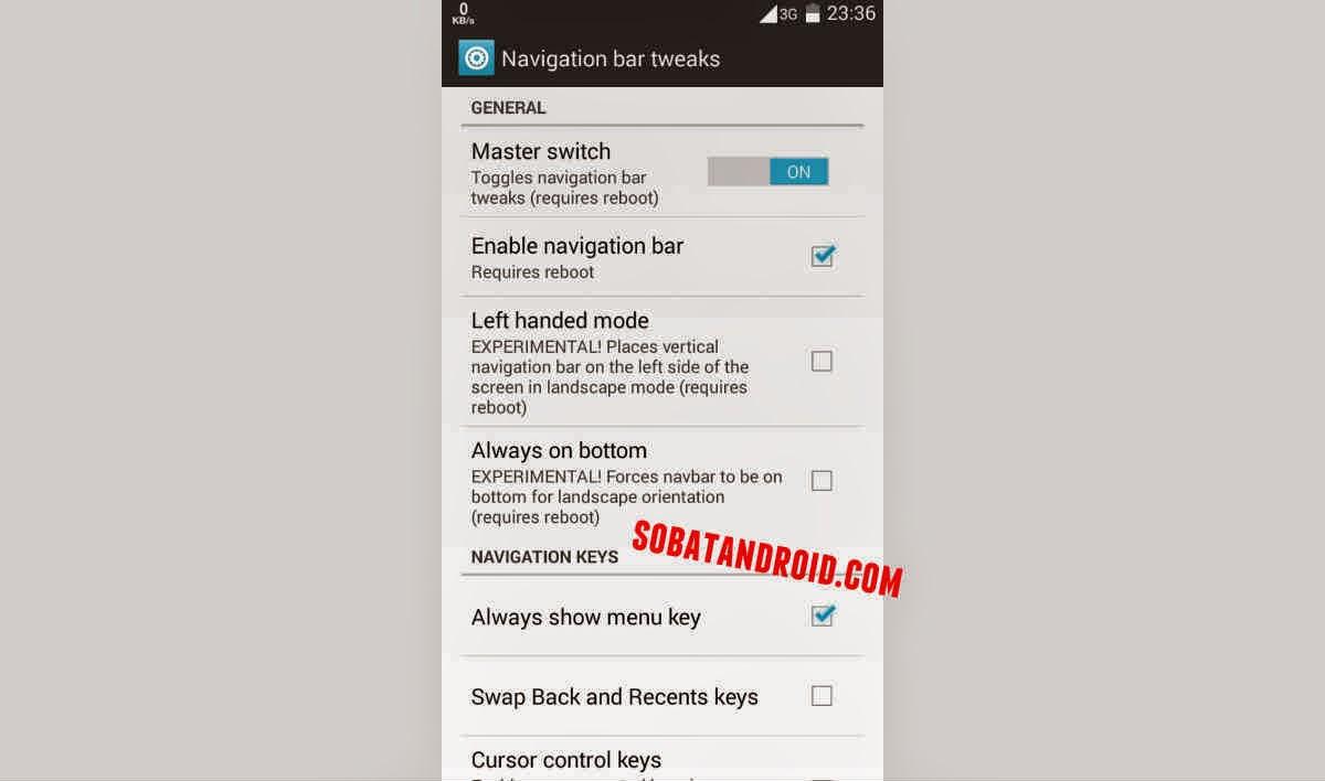 Cara Mengubah Navigation Bar ASUS Zenfone Seperti Samsung Galaxy