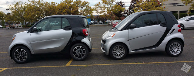 New Smart Fortwo vs old Smart Fortwo