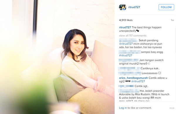 Rita Rudaini Kini Dilamun Cinta, Bakal Tamatkan Zaman Solo?