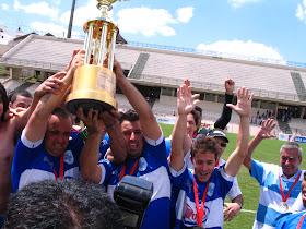 Festa em campo Santa Terezinha Campeão 2011 Taça Palácio 2011