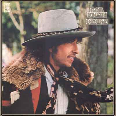 Bob Dylan - Desire album cover