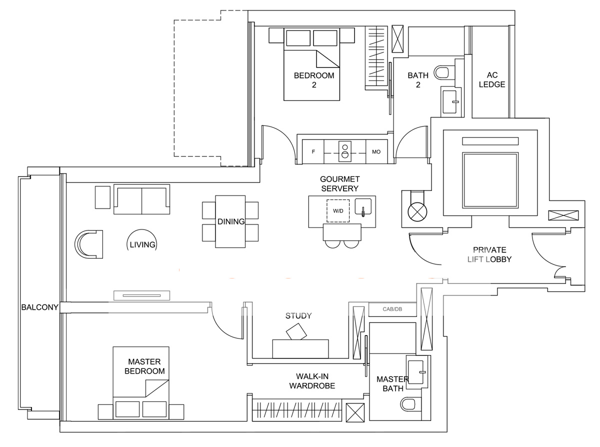 Marina One Residences Floor Plan