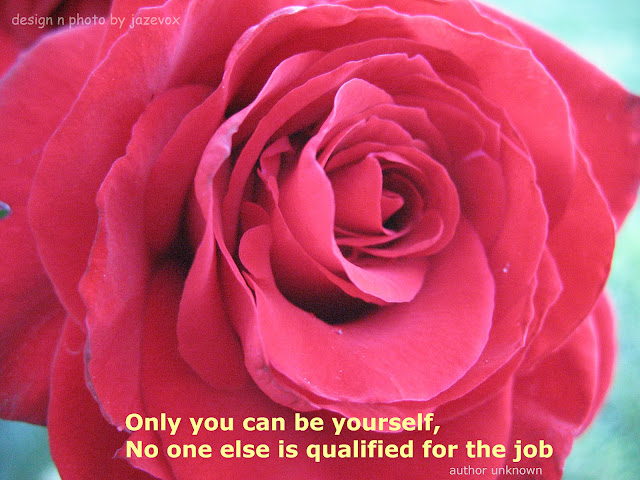 beautiful pretty red rose flower photo photography with be yourself message quote saying