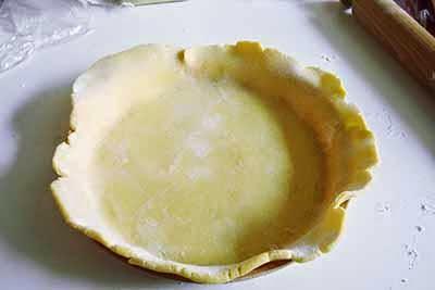 Torta salata agretti e gorgonzola 10