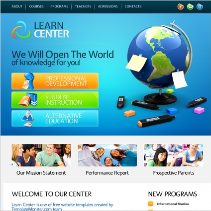 will be very useful to create the site like e learning learning center