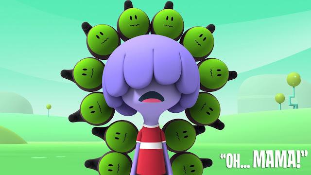 Otra imagen de la serie de dibujos animados Jelly Jamm