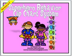 http://www.teacherspayteachers.com/Product/Superhero-Behavior-Clip-Chart-System-Role-Model-Version-3-1313636