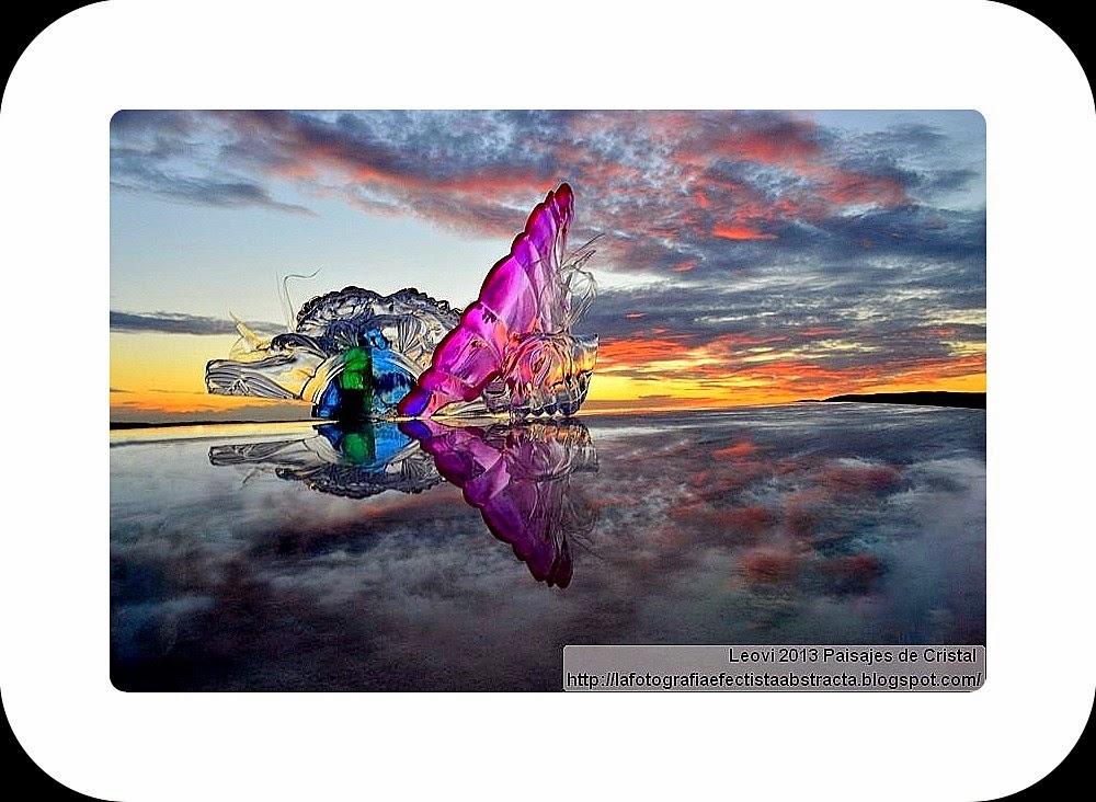 Abstract Photo 3324 Crystal Landscape 182  The silence of your look - El silencio de tu mirada