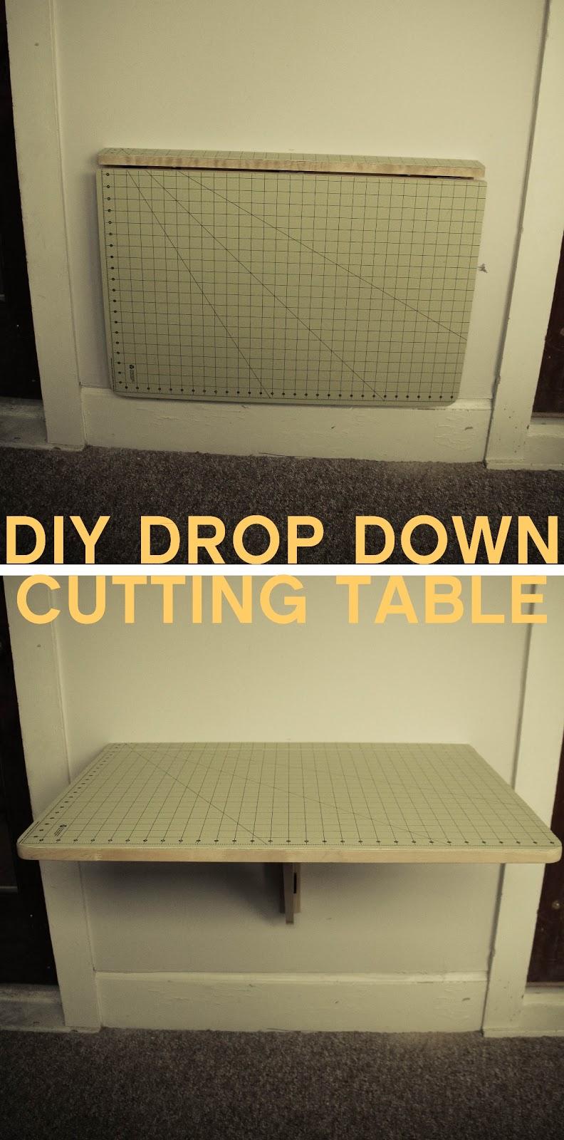 Grosgrain Diy Drop Down Cutting Table