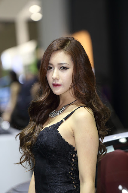 5 Kim Ha Yul - Seoul Motor Show 2013- very cute asian girl - girlcute4u.blogspot.com