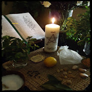 Altar de Magia Wicca