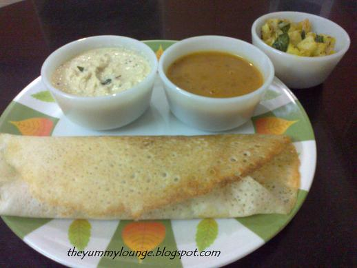 how to make south indian dosa in hindi