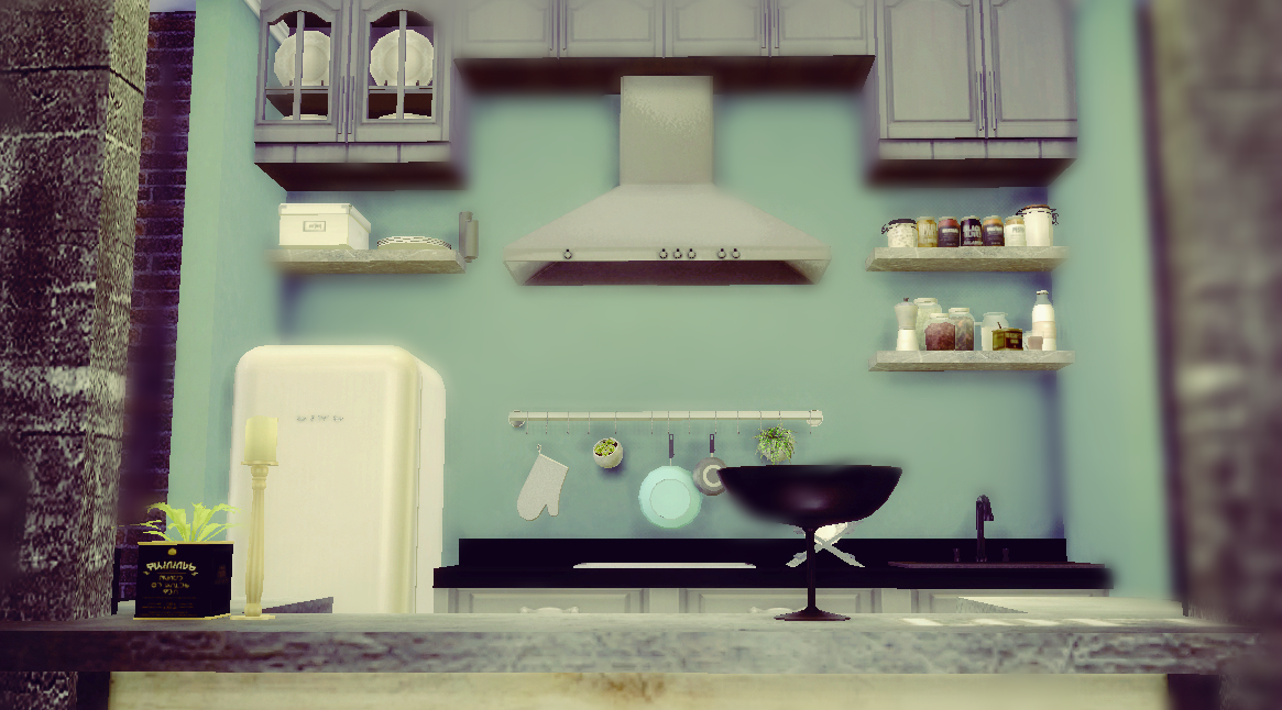 Kitchen 1 Sims4Luxury