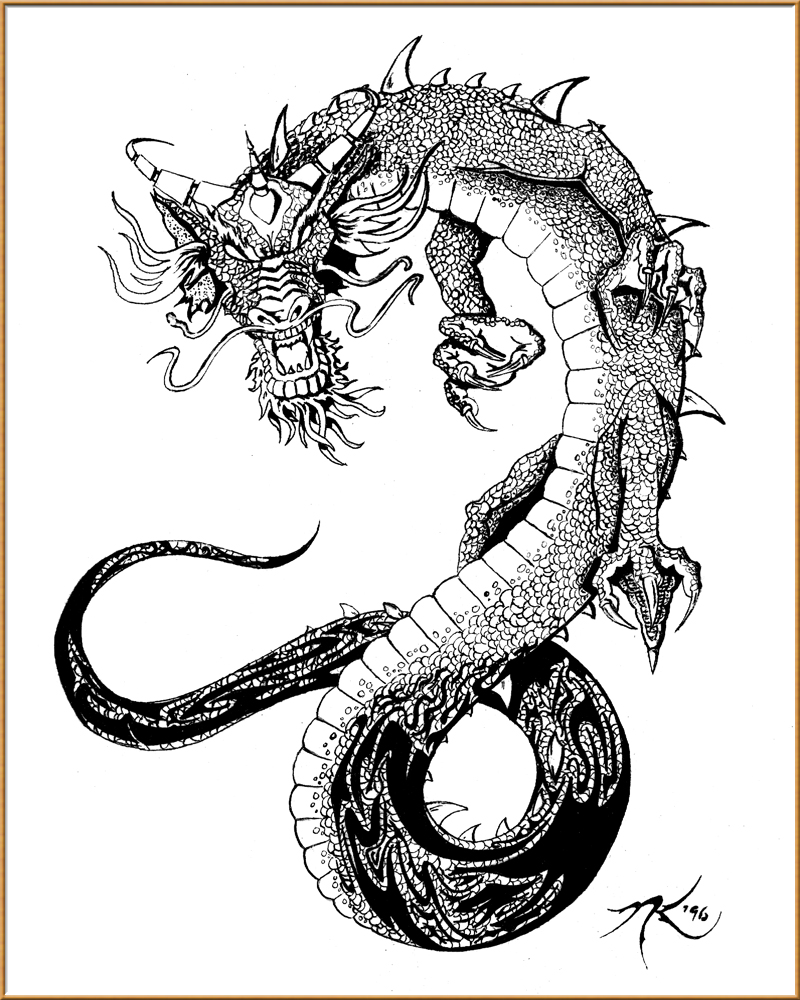 Elblogdelosoteddy dragon tattoos designs free for Free tattoo design
