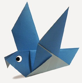 pigeon easy origami instructions for kids