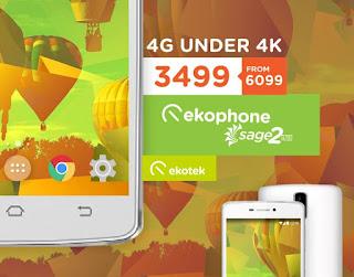 Ekotek Ekophone Sage 2 LTE Now Only Php3,499