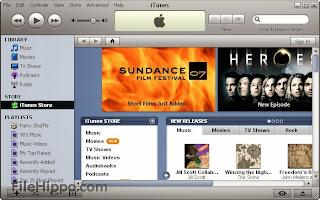 صورة من برنامج iTunes