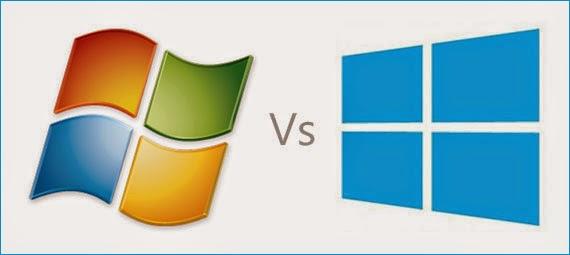 مقارنة بين نظامي التشغيل Windows 7 &Windows 8 - كتابي أنيسي