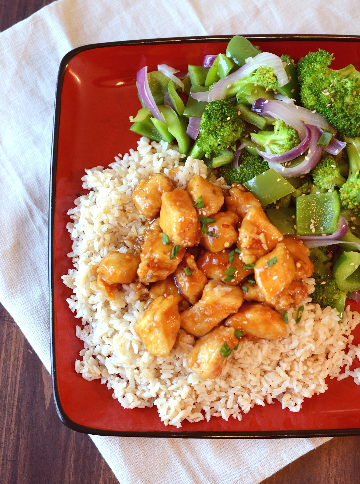 Healthy archives page 23 of 25 bless this mess orange chicken with stir fry veggies forumfinder Images