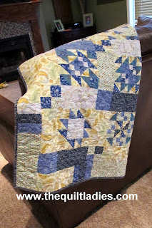 Crazy Man Quilt Pattern Digital Download by The Quilt Ladies