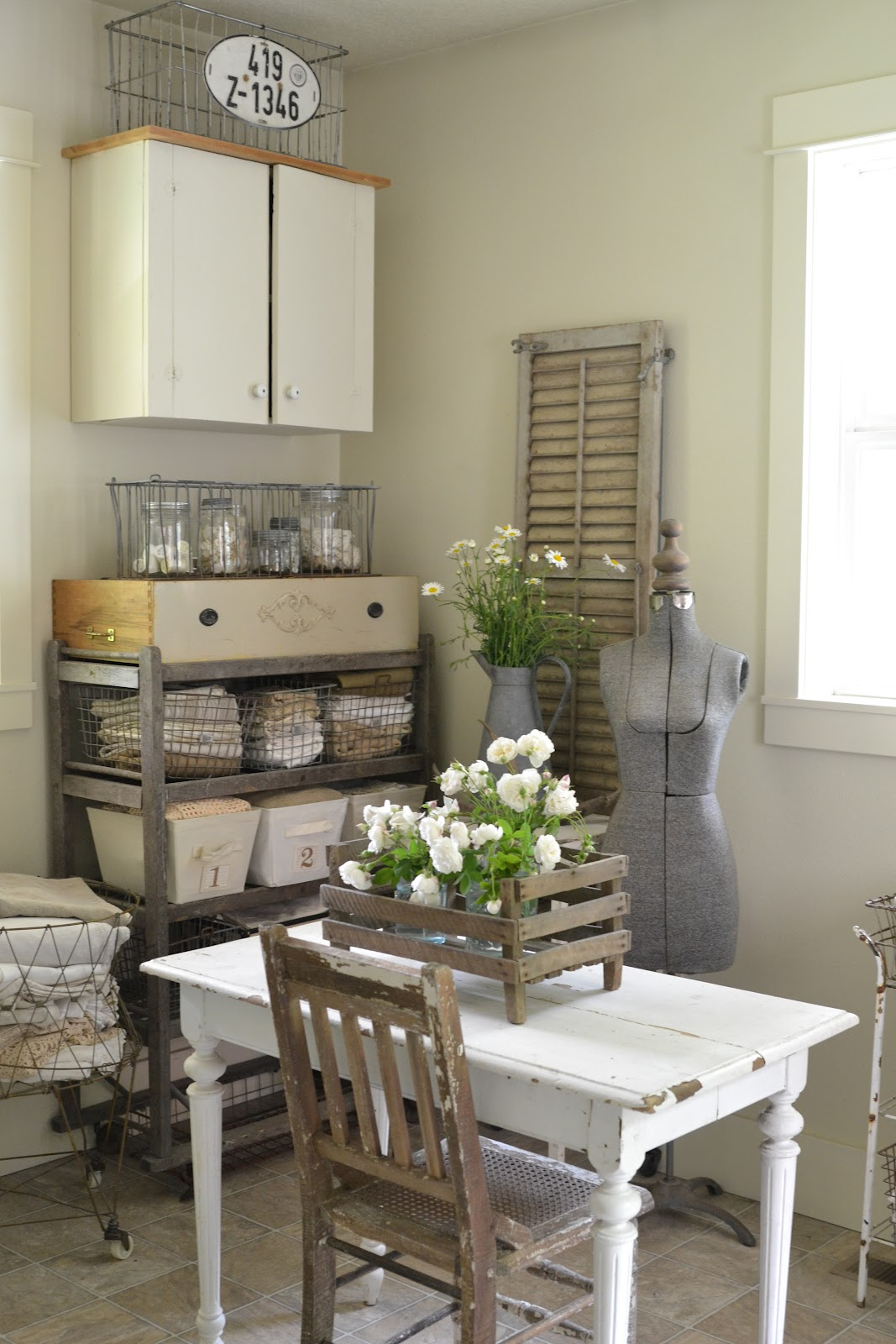 Faded Charm Laundry Room Reveal
