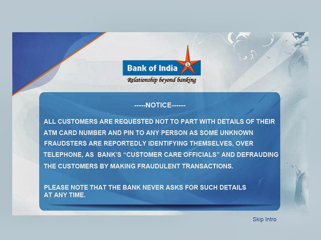 http://www.bankofindia.com/Html/SpecialistSecurity.html