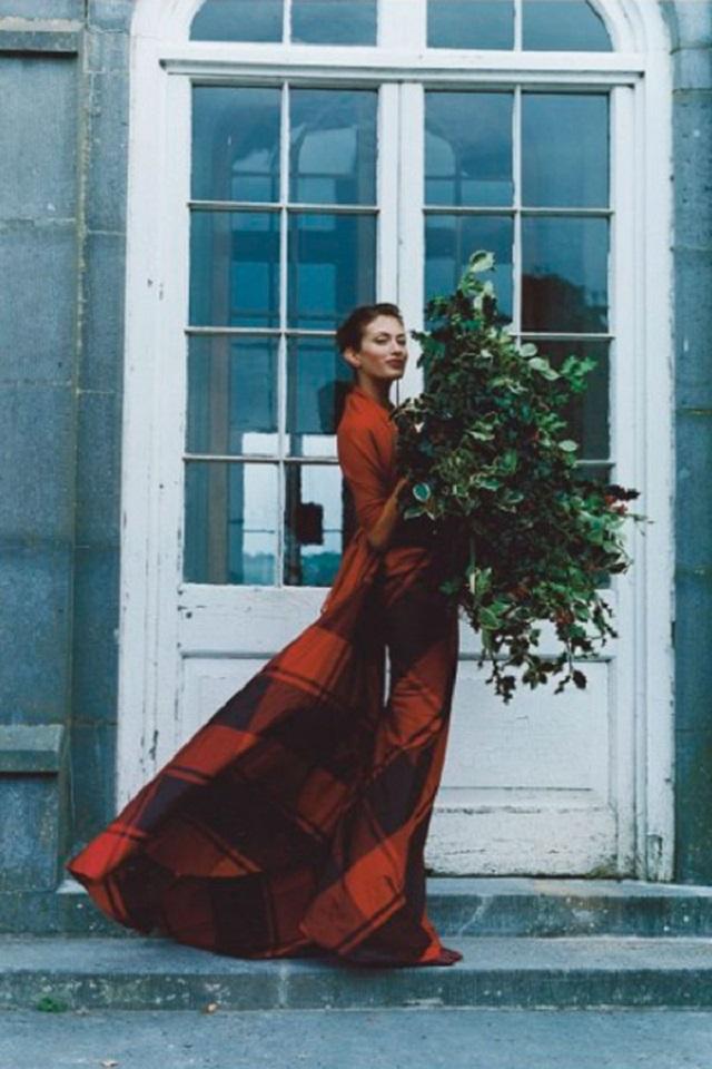 tartan ideas telas vestidos novia inspiracion boda escocesa