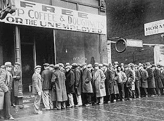 Depression Era breadline