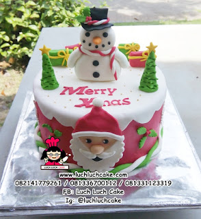 Kue Tart dan Cupcake Hadiah Natal - Christmas Gift Cupcake and Cake