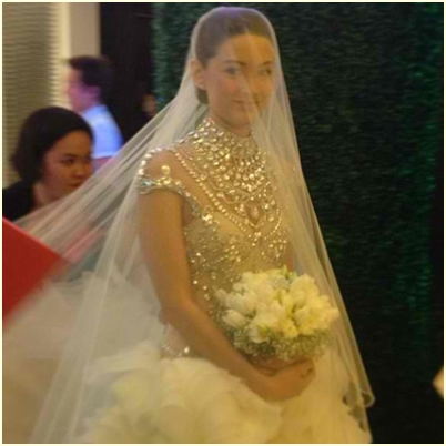 Maricar Reyes wedding gown
