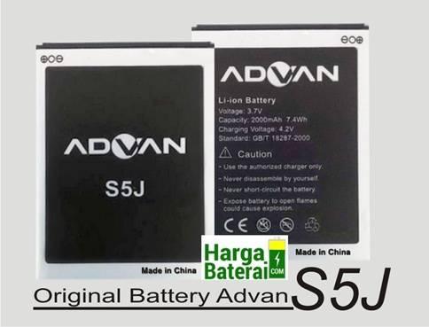 Harga Baterai Original Advan S5J Terbaru