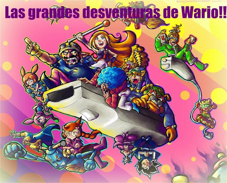 Las grandes desventuras de Wario!!