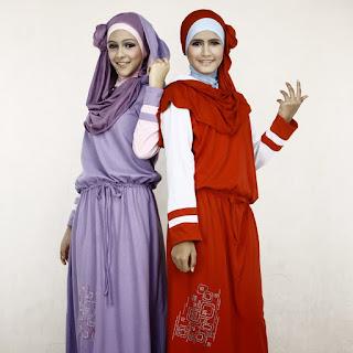 Gambar Rancangan Busana Muslim Remaja Mode 2015
