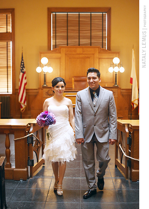 Santa Ana Court Wedding Photos