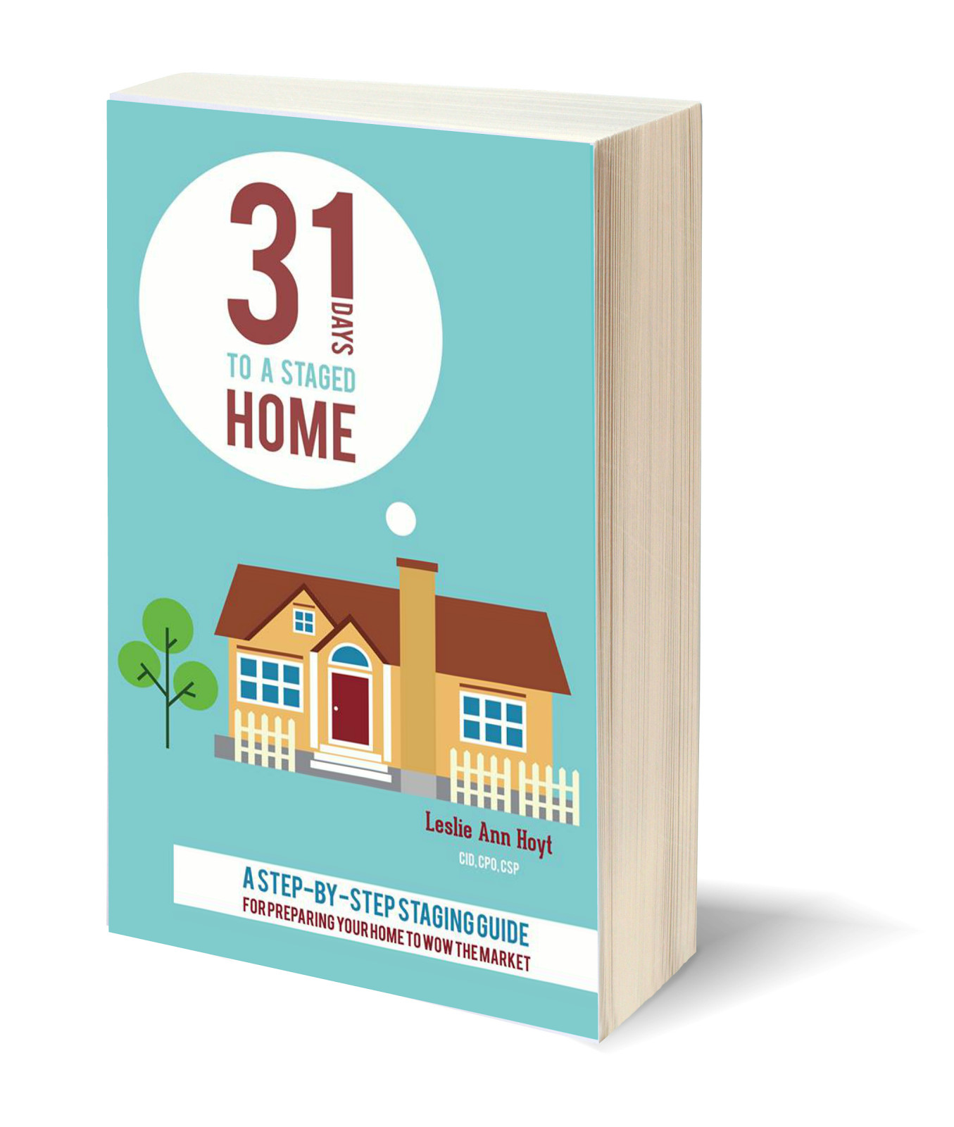It's here! The 31 Days to a Staged home e-book!