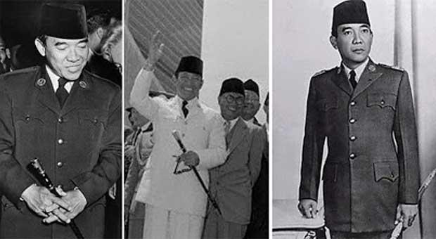 Misteri Tongkat Komando Presiden Soekarno