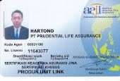 Sertifikat AAJI Keagenan Asuransi Jiwa Prudential