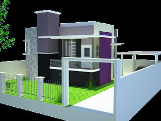 Dekorasi dan Desain Rumah Minimalis Modern dengan Konsep Bertingkat