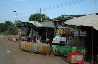 Gasolinera en Camboya
