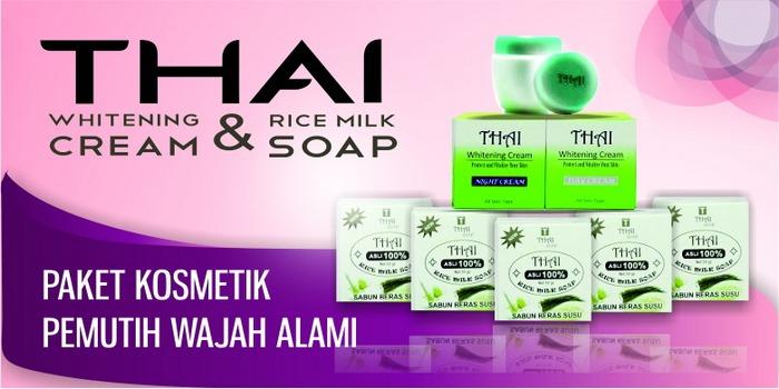 Pemutih Wajah Alami - THAI Whitening Cream