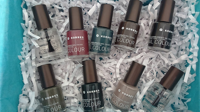 Korres Nail Colour Fall 2015 Limited Edition Collection