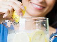 Вода для похудения с лимоном