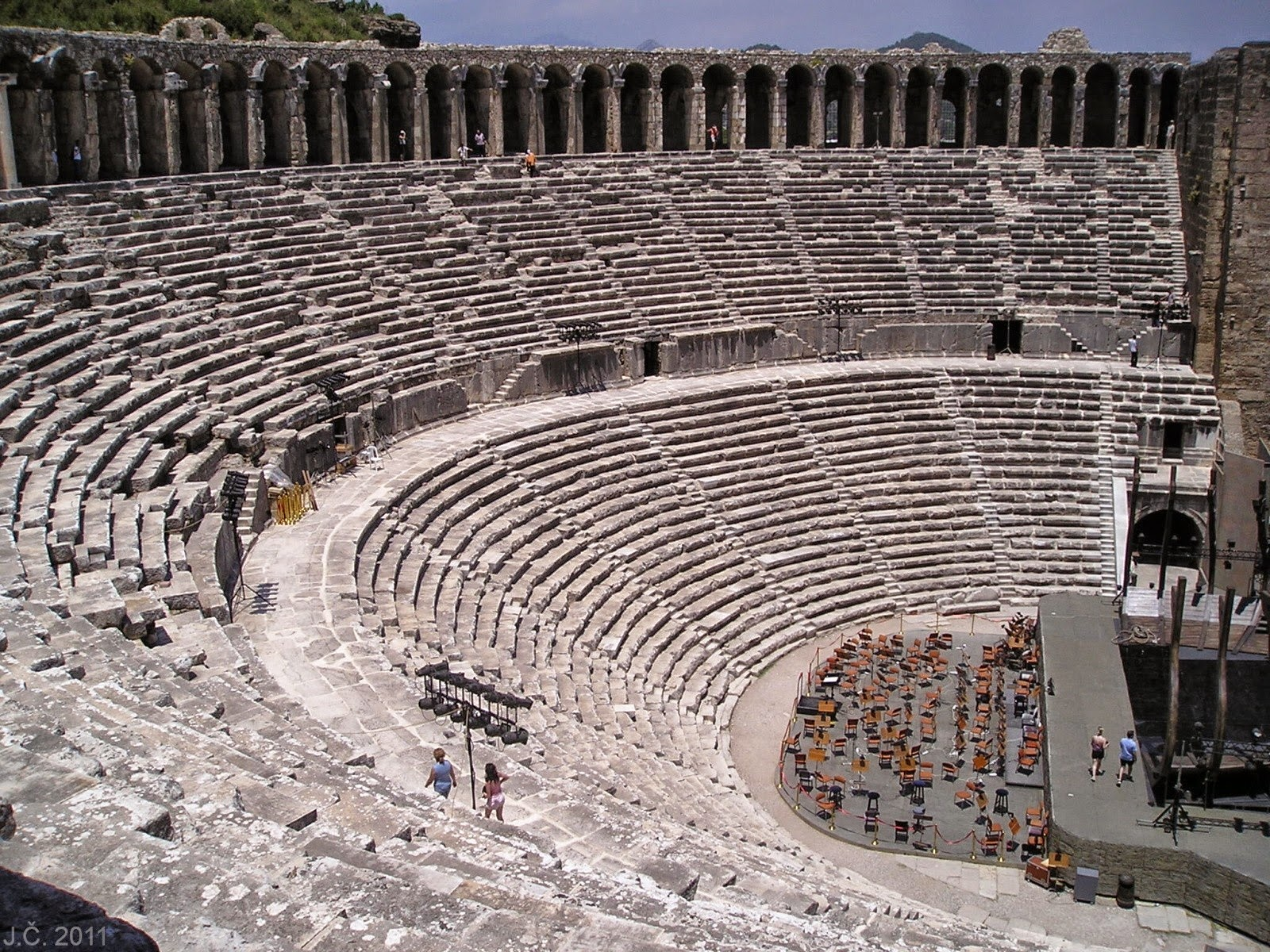 5-five-5: Aspendos Theatre (Serik - Turkey)